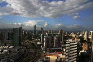 Panama City is home to a growing number of international banks and multinational companies whose Latin American headquarters have relocated there. (Photo: Maria Luisa Gutierrez)