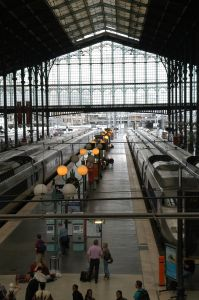 The Paris to Amsterdam train route has become the greenest stretch of high-speed rail link in Europe. (Photo: Hervé de Brabandère)