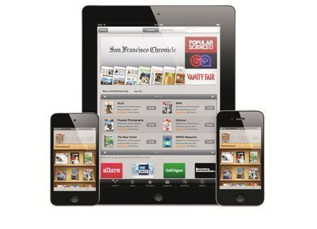 The iPad version of the app is simply a double-resolution version of the iPhone app rather than a native iPad app. (Photo: Apple.com)