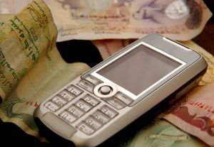 Mobile banking has grown 200% in developing countries such as Kenya where more people own mobile phones than bank accounts. (Photo: Jeff Vergara)
